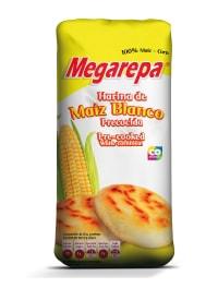 Harina de maíz blanca precocida